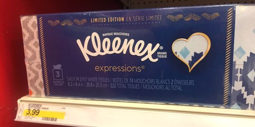 Target: Kleenex Tissues Just 81¢ Per Box