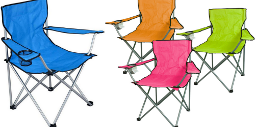 Kmart.com: Lightweight Sports Chair Only $5 (Regularly $12) – Lots of Colors Available