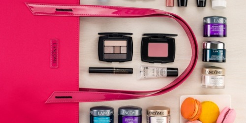 Macy's: 5 Free Lancôme Products AND Free Tote Bag ($126 Value) – Just Make $35 Lancome Purchase
