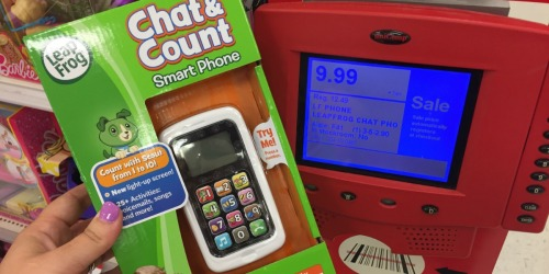 Target: HUGE Discounts on LeapFrog & Vtech Toys = LeapFrog Phone Only $6.49 & More
