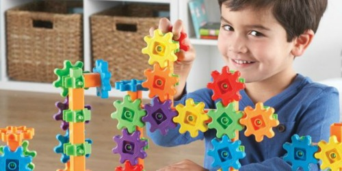 Amazon: Learning Resources Gears 96-Piece Set Only $15.79 (Regularly $34.99)
