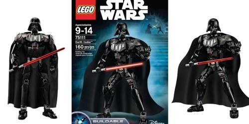 LEGO Star Wars Darth Vader Building Set ONLY $19.37
