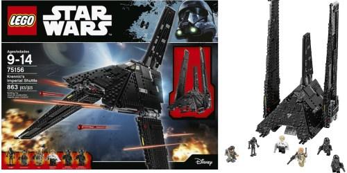 Amazon: LEGO Star Wars Krennic's Imperial Shuttle Set Only $67.99 Shipped (Regularly $90)