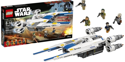 Amazon Prime: LEGO Star Wars Rebel U-Wing Fighter Only $54 Shipped (Regularly $80)