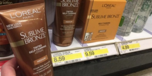 Target: L'Oréal Sublime Bronze Self-Tanner Just $2.80 Each After Gift Card (Regularly $8.59)
