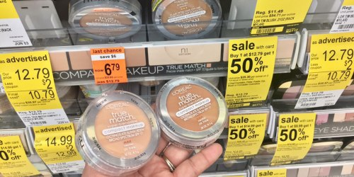Walgreens: L'Oréal True Match Compact Makeup Possibly Only $2.09 Each (Regularly $12.79)