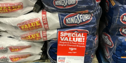Having a Memorial Day BBQ? Score 18.6lb Bags of Kingsford Charcoal for Only $4.94 Each
