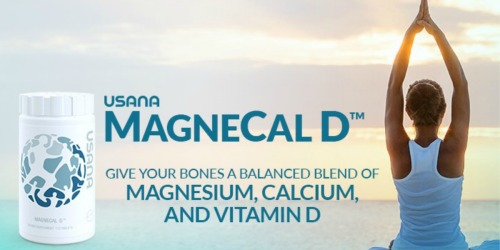 1,000 Win Bottle of USANA's MagneCal D from Dr. Oz ($22 Value)