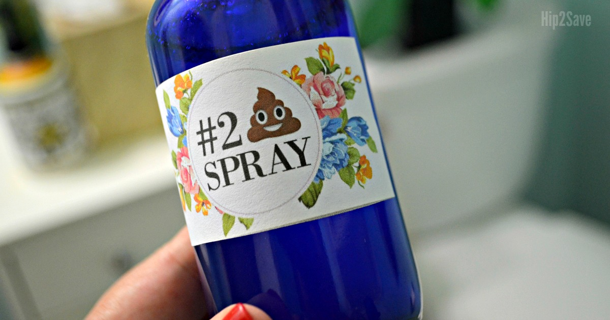 poop spray diy