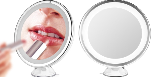 Amazon: Lighted Makeup Mirror w/ Magnification Only $16.99 + More Great Deals