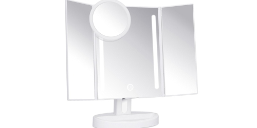 Amazon: Lighted Makeup Mirror Only $25.49 Shipped + More Great Deals