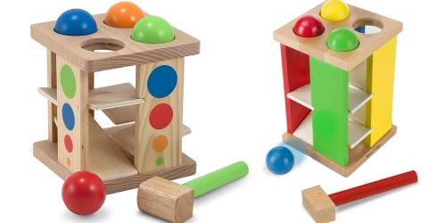 Melissa & Doug Wooden Tower Toy Only $7.63 (Regularly $19.99)