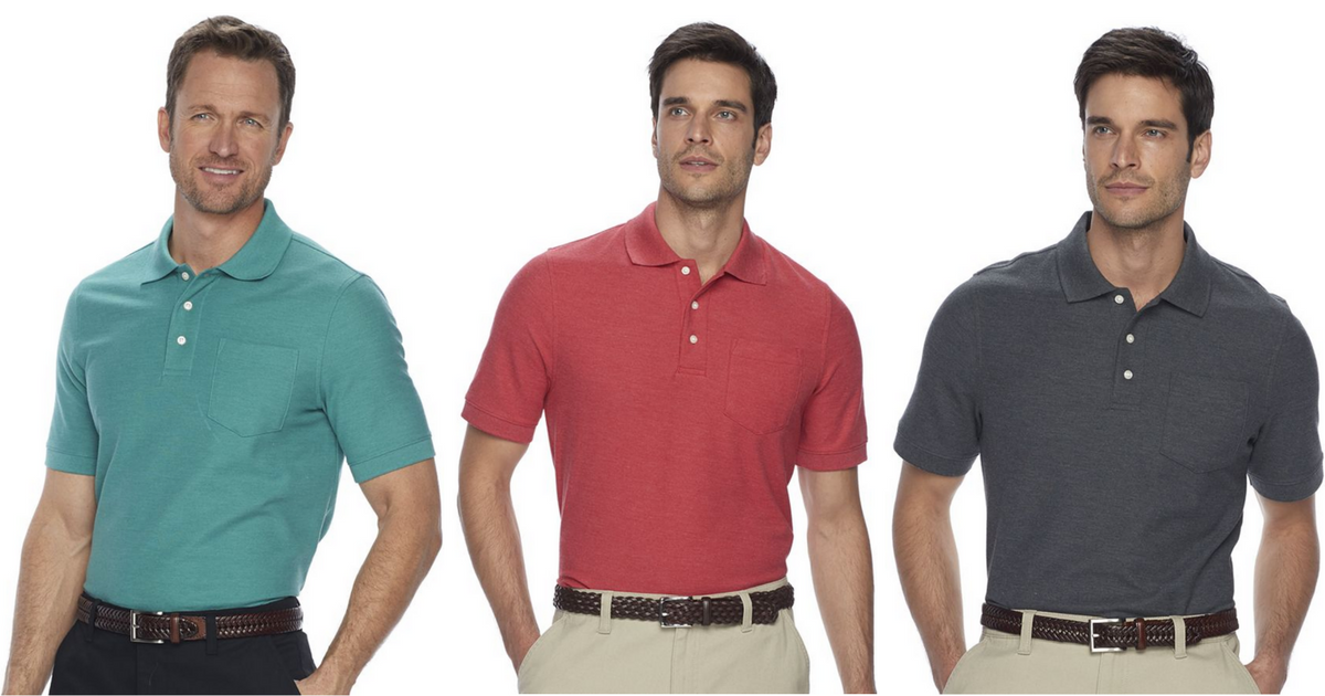 273ea8dc02e7 Kohl s  Men s Polo Shirts Only  5.66 Each (Regularly  26) - Hip2Save