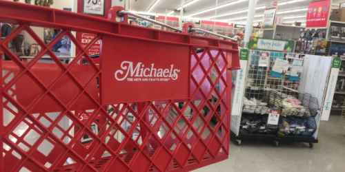 $20 Off $50 Michaels In-Store Purchase Coupon Valid Today Only | Check Your Inbox