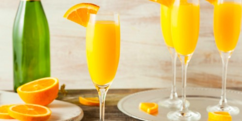 $5 Ibotta Cash Back w/ ANY Mimosa Purchase This Mother's Day