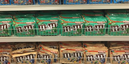 New $1/2 M&M's Chocolate Candies Coupon = 9.6 oz Bags Just $1.75 Each at Walgreens