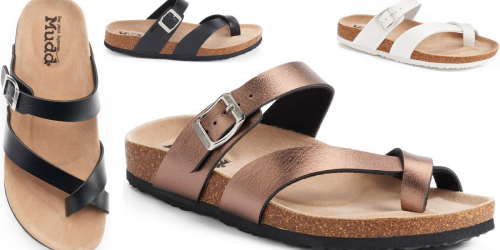 Kohl's: Cute Mudd Women's Sandals ONLY $7.64 Each When You Buy 2 Pairs (Regularly $24)