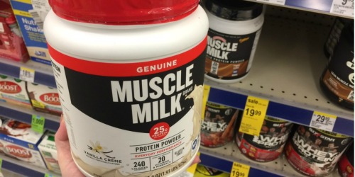 3 High Value & Rare Muscle Milk Protein Coupons = Nice Deals at Walgreens & Walmart
