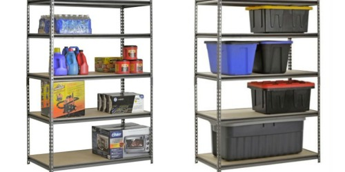 Walmart: Muscle Rack 5-Shelf Steel Shelving Unit Only $52.96