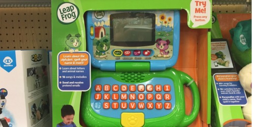 Target Shoppers! Save Big on LeapFrog Toys = My Own Leaptop Only $13.71 + More