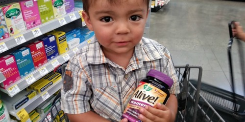 Walgreens: Nature's Way Alive! Multivitamins Only $2.99 (Regularly $12.49)