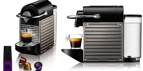 Amazon: Nespresso Pixie Espresso Maker Only $109.37 Shipped (Regularly $163.21)