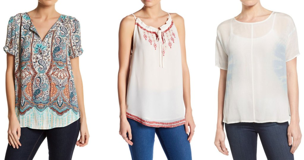 NordstromRack com: Women's Clearance Shirts Starting At ONLY