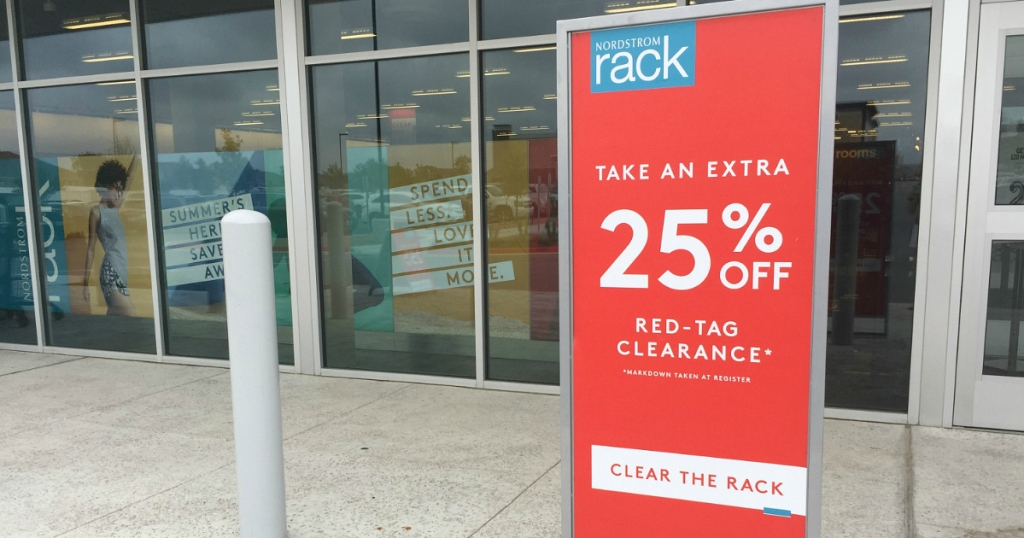 Nordstrom Rack Red Tag Clearance