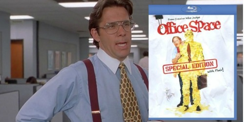 Office Space Special Edition with Flair Blu-ray Only $5.88