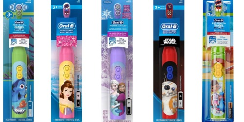 Amazon: Oral-B ProHealth Kid's Battery Powered Toothbrushes ONLY $2.22 (Add-On Items)