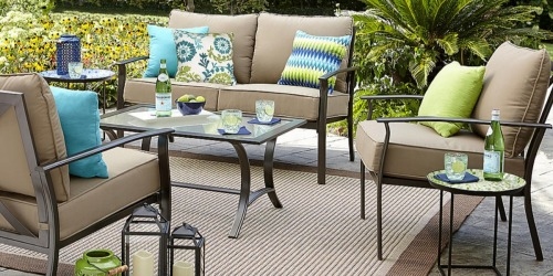 Sears.com: Garden Oasis 4-Piece Patio Set Only $269.99 (Reg. $699.99) + Earn Points