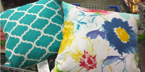 SO CUTE! Outdoor Throw Pillows Just $5 at Walmart (In-Store & Online)