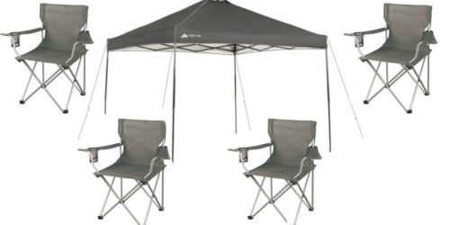 Walmart.com: Ozark Trail Instant Canopy + FOUR Chairs Only $89 Shipped