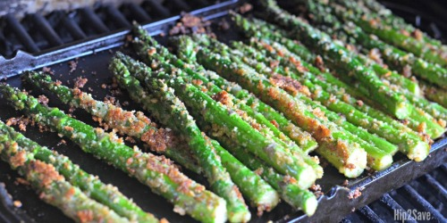 Roasted Parmesan Asparagus on the Grill (If You're an Asparagus Hater, TRY THIS)