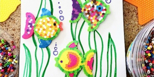 So Fun for Kids! Perler Beads 22,000 Piece Activity Bucket ONLY $10.29