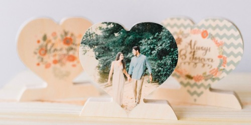 PhotoBarn: Personalized Wooden Photo Hearts ONLY $9.99 Shipped (Regularly $30)