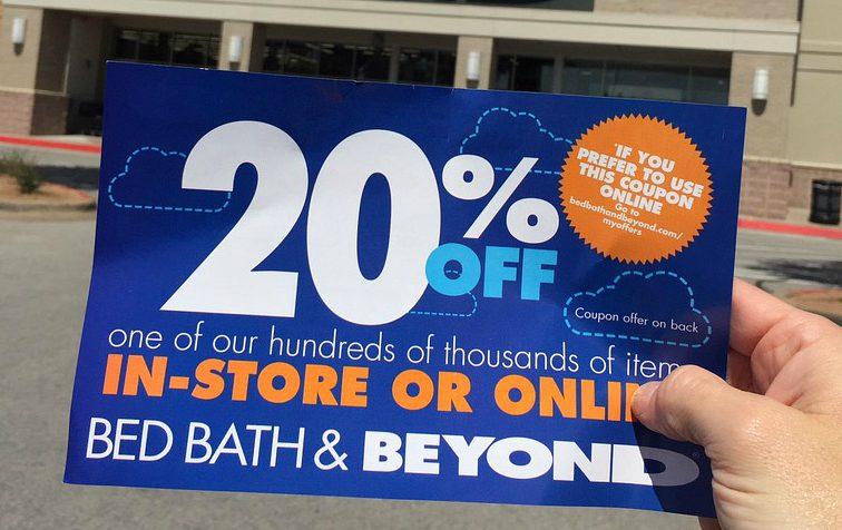 17 bed bath beyond money saving secrets - 20% off coupon mailer