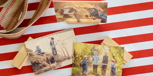 PhotoBarn: Personalized 8×8 Wood Photo Print ONLY $9.99 Shipped (Regularly $20)