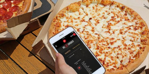 Take a Break From Cooking! 50% Off ALL Menu-Priced Pizzas at Pizza Hut & Domino's