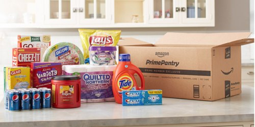 Up to $16 Off $60+ Amazon Prime Pantry Order