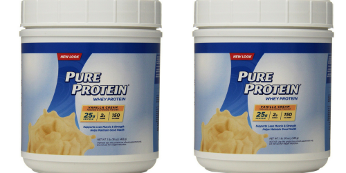 Amazon: Pure Protein Powder 1-Pound Only $4.57 Shipped (Regularly $7.14)