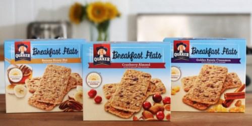 Walgreens: Quaker Breakfast Flats ONLY 99¢