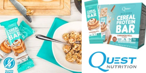Amazon: Quest Nutrition Gluten-Free Protein Bars 15-Pack Only $16.12 Shipped ($1.07 Per Bar!)
