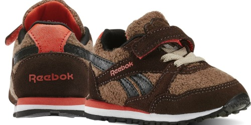 Reebok.com: Extra 30% Off Outlet Prices = Infant Shoes Just $17.49 (Regularly $39.99) + More