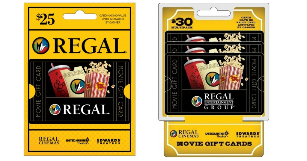 $25 Regal Gift Card Only $20 44 Shipped & More - Hip2Save