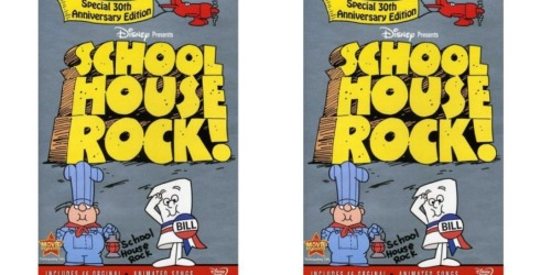 Schoolhouse Rock! Special 30th Anniversary Edition DVD Set Only $6.96 (Regularly $19.96)