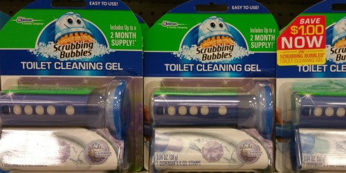 Walgreens: FREE Scrubbing Bubbles Toilet Cleaning Gel
