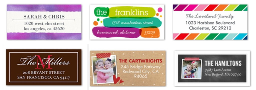 Shutterfly Address Labels Just $2 99 Shipped - Hip2Save
