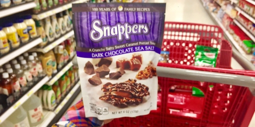 YUM-O! Target: Snappers Chocolate Pretzel Treats As Low As $1.95 (No Coupons Needed)