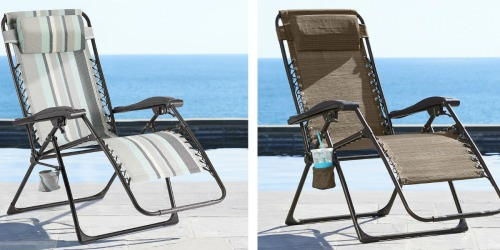 Sonoma Antigravity Chairs ONLY $29.74 (Reg. $139.99) & $5 Kohl's Cash – Readers Love Them!